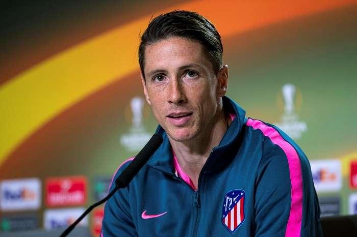 Fernando Torres durante la rueda de prensa. EFE.