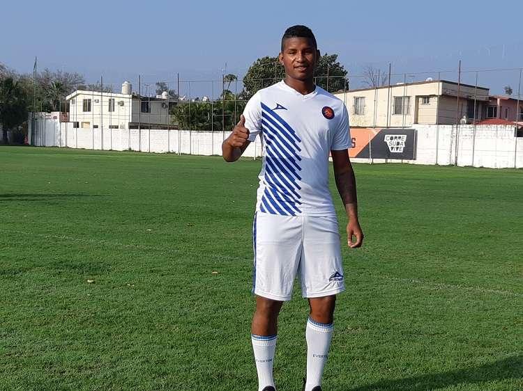 El jugador panameño llega proveniente del Sporting San Miguelito. Foto: @CFCorrecaminos