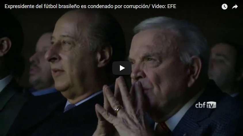 José María Marín, expresidente de la Confederación Brasileña de Fútbol (CBF)./ EFE