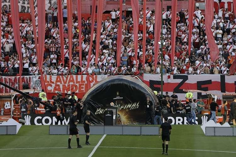 La Conmebol dijo que resulta prudente que la final no se juegue en Argentina. Foto: AP