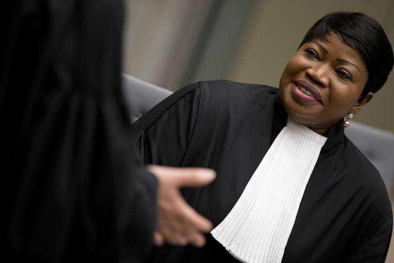 La fiscal jefe de la CPI, Fatou Bensouda. EFEArchivo