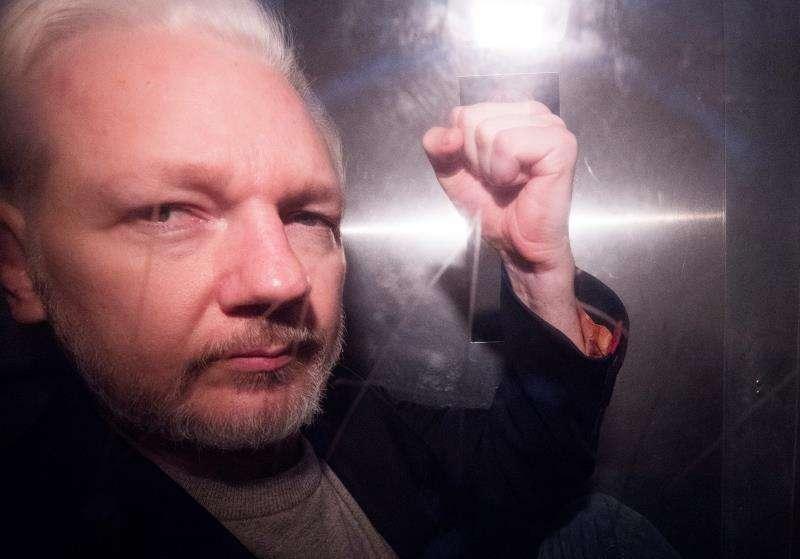 En la imagen se aprecia a el fundador de WikiLeaks, Julian Assange. Foto: EFE