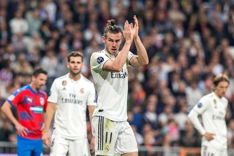 El delantero galés del Real Madrid, Gareth Bale. Foto: EFE