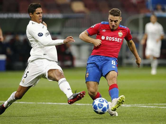 Nikola Vlasic saca el disparo para anotar el gol del triunfo./ Foto AP