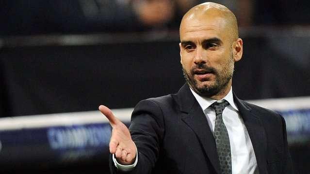El entrenador del Manchester City, el español Pep Guardiola, se mostró feliz en el fútbol inglés./EFE