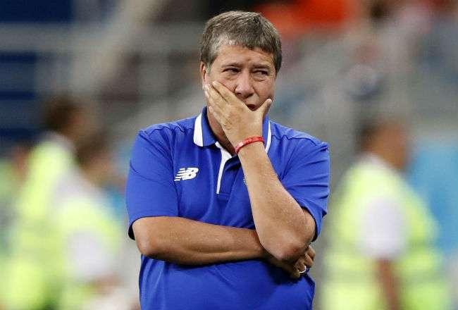 El entrenador Hernán Darío Gómez. Foto:EFE