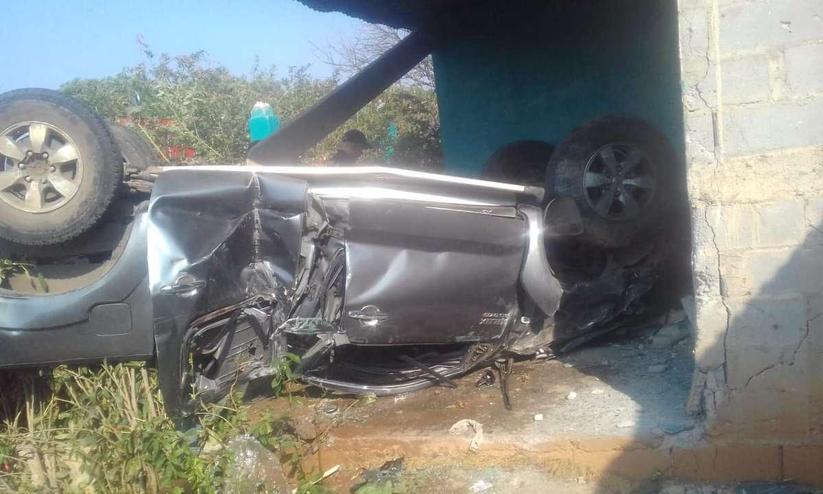 Accidente en Herrera