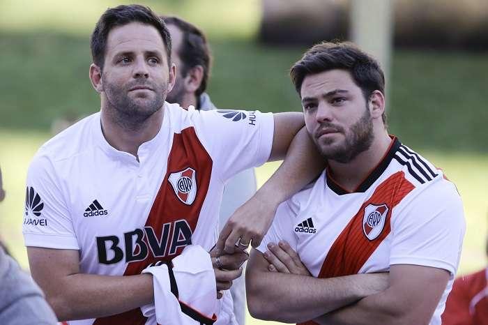 Los hinchas de River Plate se quedaron con las ganas de ver a su equipo jugar en el Estadio Monumental. /EFE