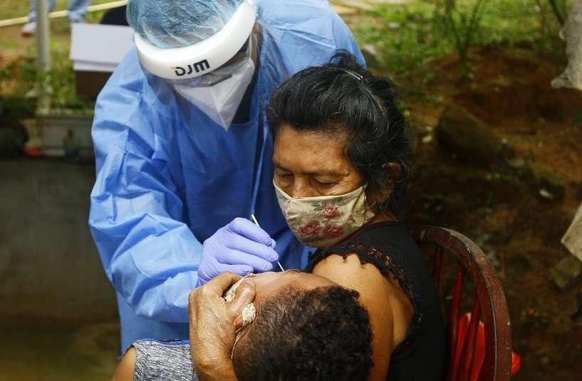 Autoridades de salud realizaron operativo de trazabilidad en Pedregal. Foto: Edwards Santos