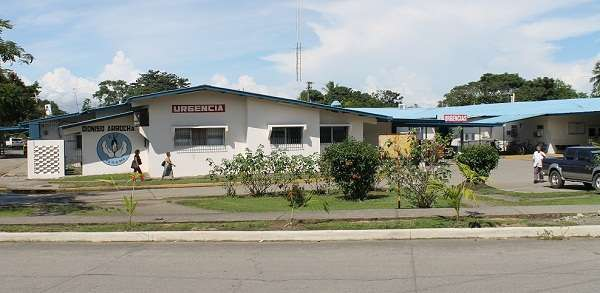 Hospital Dionisio Arrocha en Barú.