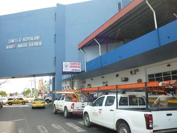 Hospital Manuel Amador Guerrero, Colón. Foto: Diómedes Sánchez