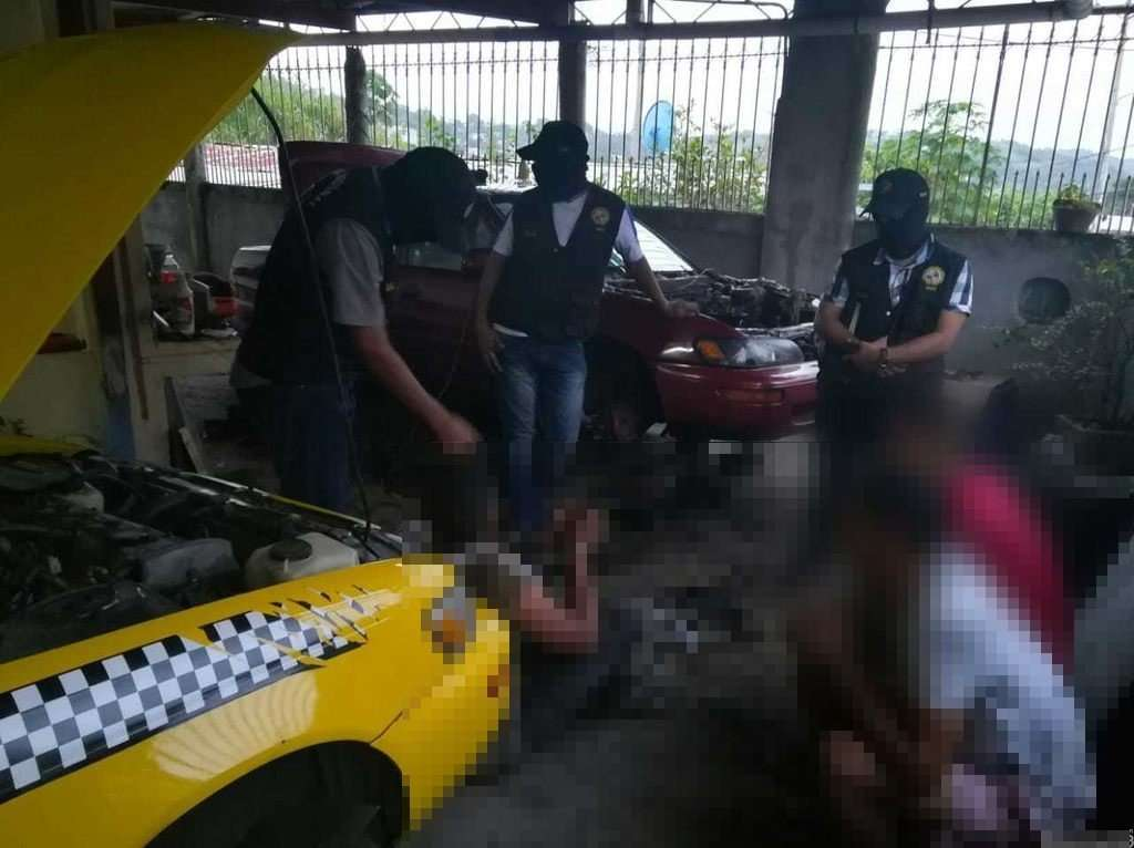 Banda desvalijadora de autos. Foto/@ProtegeryServir
