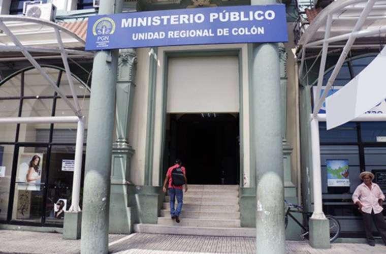 Instalaciones del Ministerio Público en Colón. Foto: Cortesía