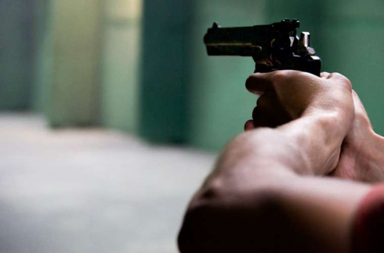 Los asaltantes tenían en su poder un arma de fuego. Foto: Ilustrativa