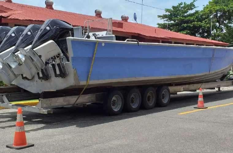 Será una de las embarcaciones más grandes con que contará el Senan para la lucha contra el narcotráfico en las aguas panameñas. Foto: Cortesía