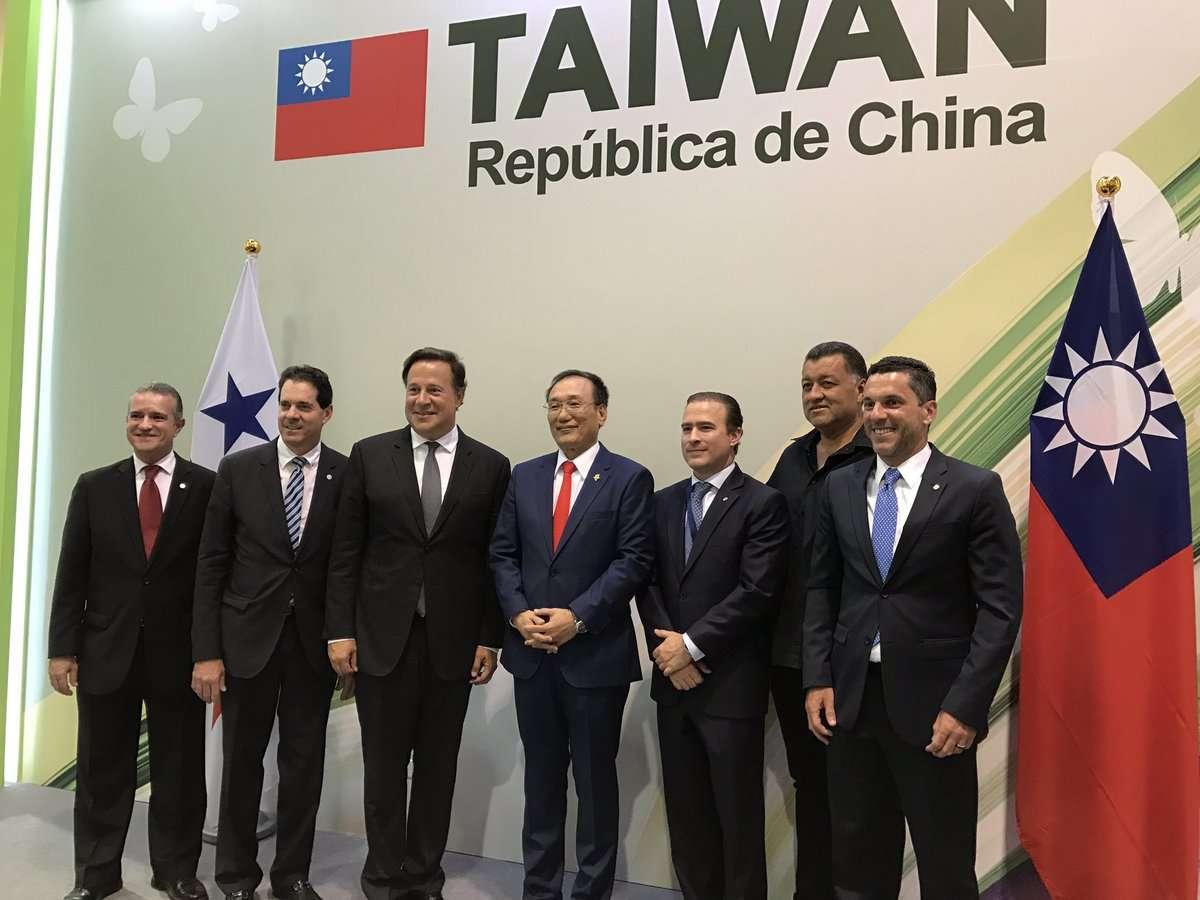 Panamá rompió relaciones con Taiwán en junio de 2017