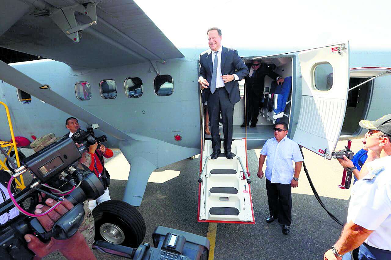 Primera visita del presidente Juan Carlos Varela a China