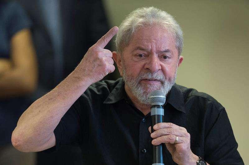 expresidente de Brasil Luiz Inácio Lula da Silva. EFEArchivo