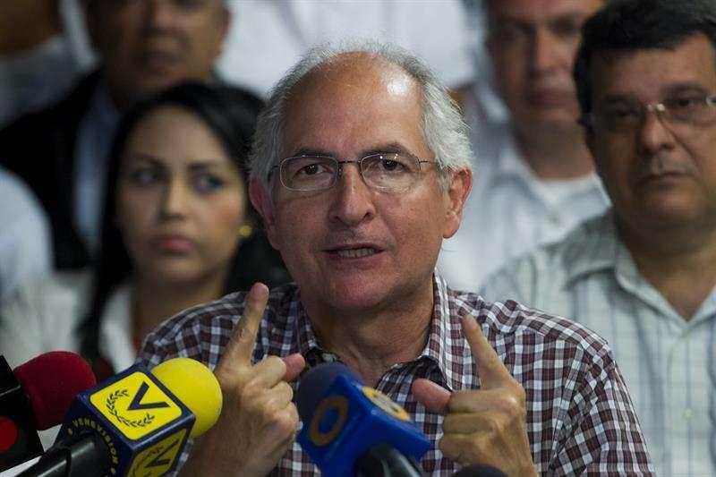 En la imagen, el alcalde metropolitano de Caracas, Antonio Ledezma. EFE/Archivo