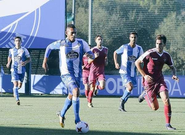 Ismael Díaz es tendencia tras anota en el fútbol español. Foto: Twitter