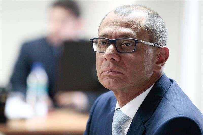 En la imagen, el vicepresidente de Ecuador, Jorge Glas. EFEArchivo