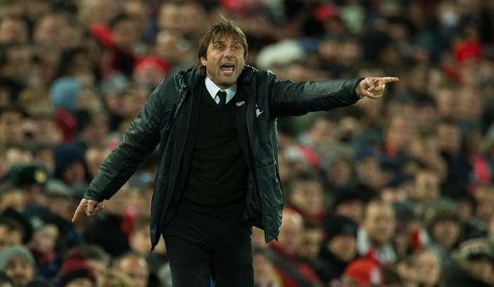 Antonio Conte, extécnico de Italia, y actual entrenador del Chelsea de Inglaterra/ AP