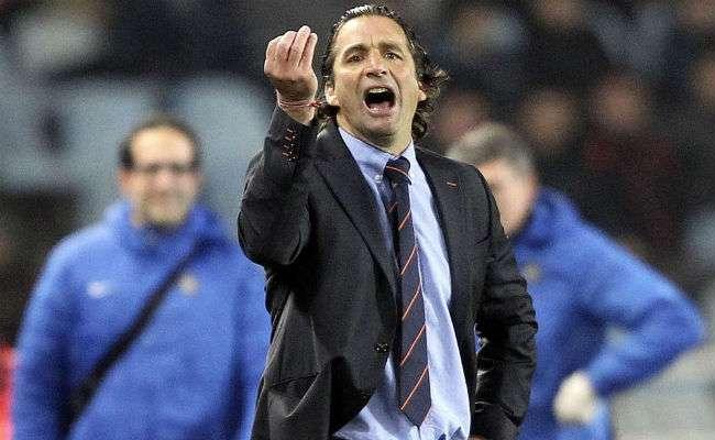 El entrenador Juan Antonio Pizzi. Foto EFE