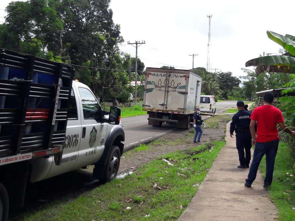 La Policía Nacional trata de esclarecer si se trata de una banda o pandilla que opera en Veraguas. /  Foto: Melquiades Vásquez
