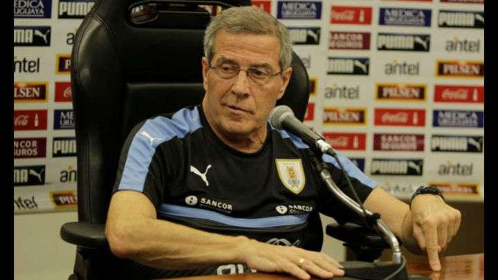 Óscar Washington Tabarez dirigió a Uruguay en los mundiales de 1990, 2010 y 2014.