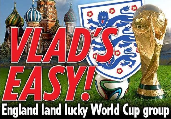 Los ingleses están contentos con su grupo.