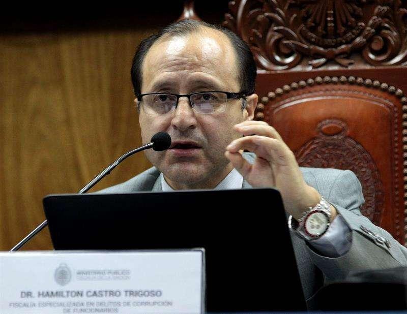 Hamilton Castro Trigoso, fiscal anticorrupción de Perú. EFEArchivo
