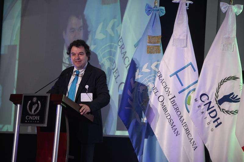 En la imagen el defensor del Pueblo de Colombia, Alfonso Negret. EFEarchivo