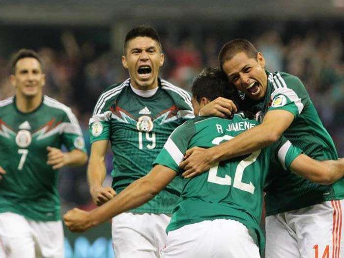 La selección de México quedó en un grupo muy complicado. Foto EFE