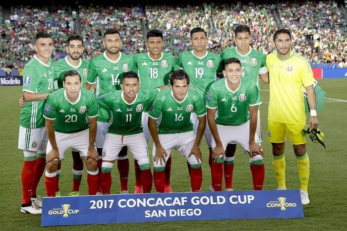 La selección de México aspira a llegar a la final del Mundial/ EFE