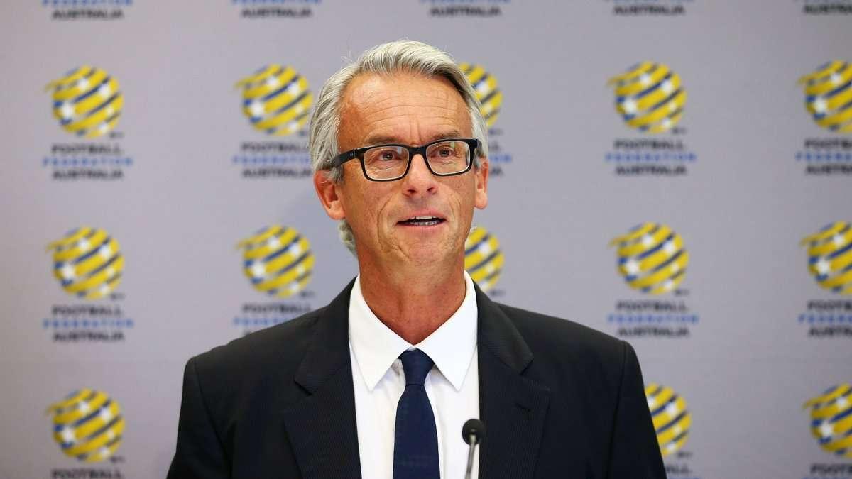 David Gallop, presidente de la Federación Australiana de Fútbol.