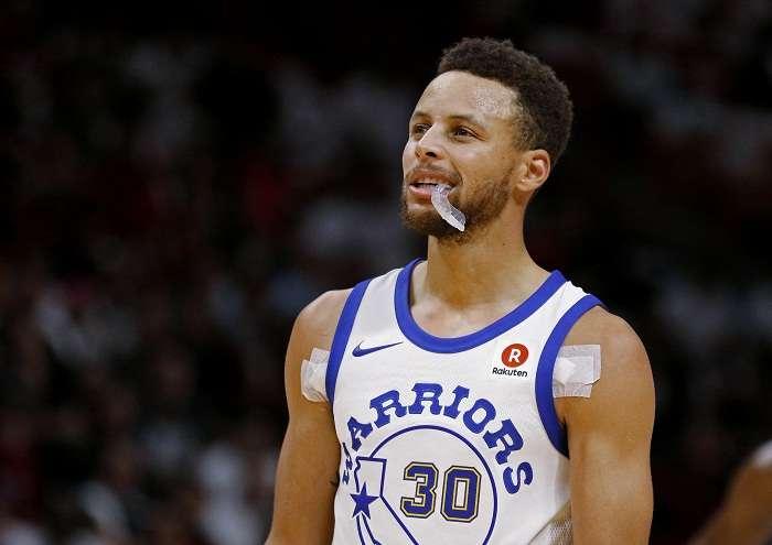 Curry no tiene daños estructurales en el tobillo. Foto: AP