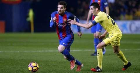 Lionel Messi cumplirá este domingo su partido N.°606 con la camiseta del Barcelona. Foto: AP