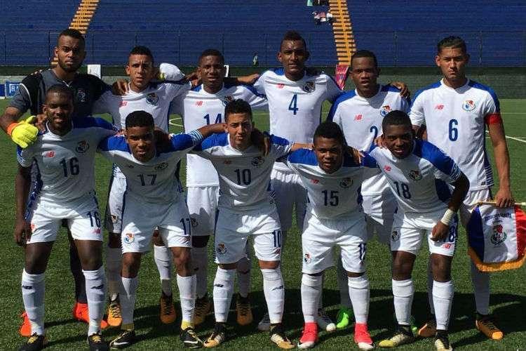 Selección Sub-21 de fútbol de Panamá. Foto: Fepafut