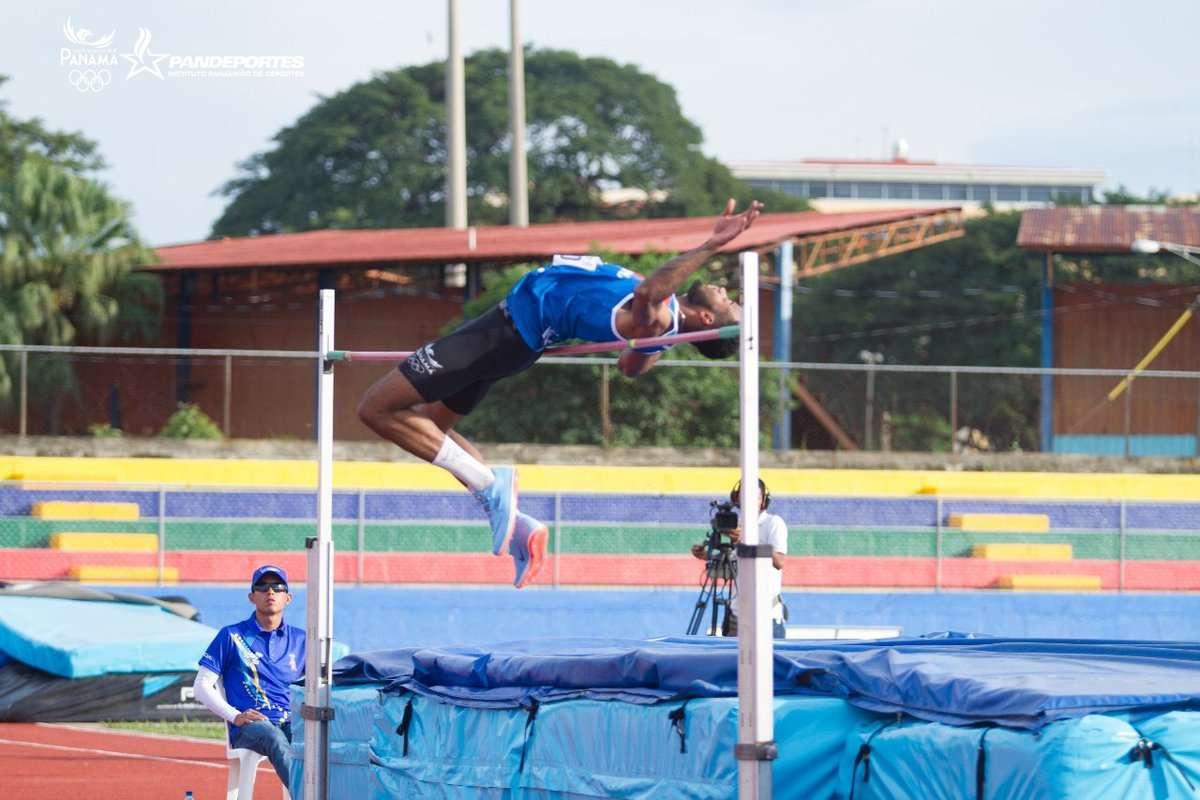 Alexander Bowen durante su participación en los Juegos Centroamericanos. Foto: Comité Olímpico de Panamá