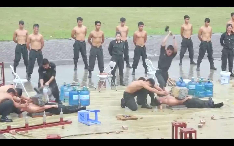 No cualquier persona soporta tanta tortura.  /  Captura de video
