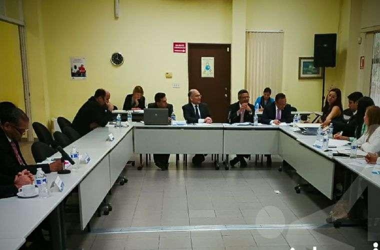 El documento fue presentado a miembros del Pacto de Estado por la Justicia.