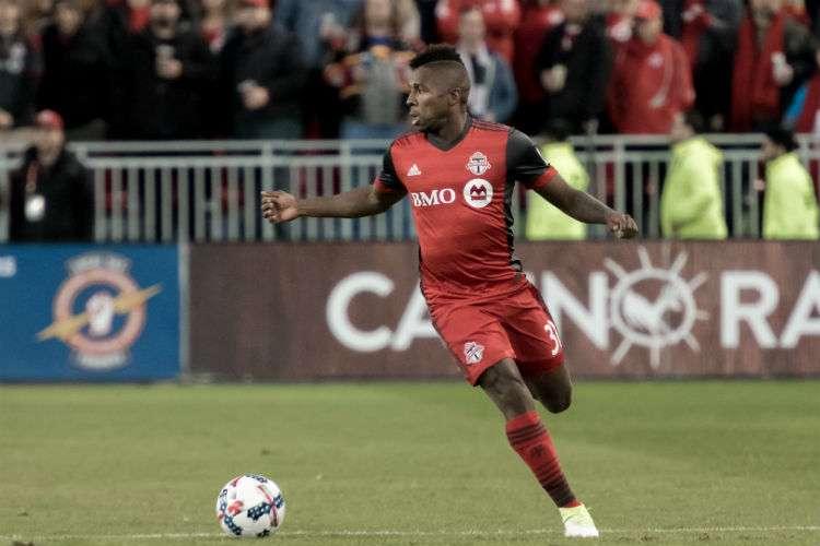 Armando Cooper jugó con el Toronto FC en las temporadas 2016 y 2017.