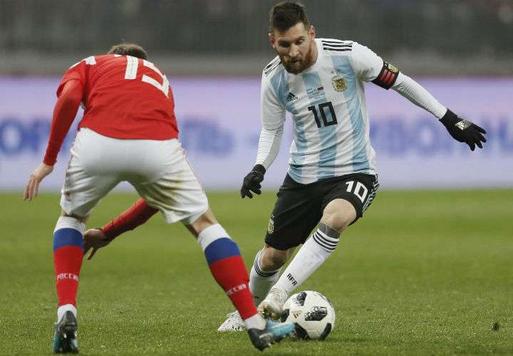 Lionel Messi disputó en el 2014 la final de la Copa Mundial de Fútbol que se celebró en Brasil. Foto AP
