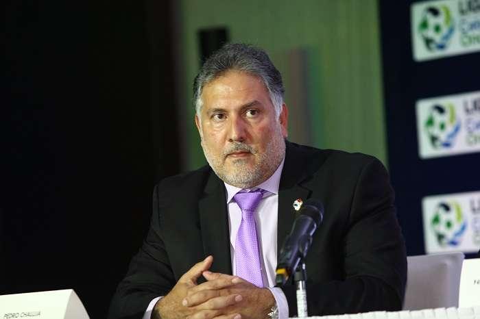 Pedro Chaluja, presidente de la Federación Panameña de Fútbol (Fepafut). / EFE