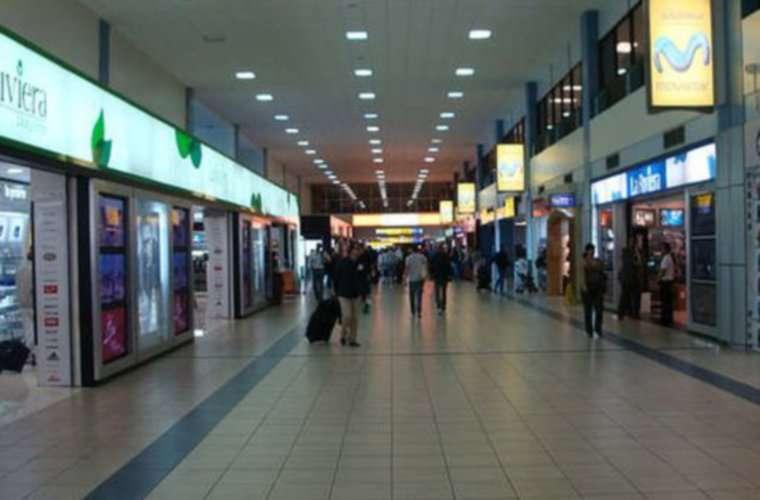 """La zona de tiendas """"Duty Free"""" del Aeropuerto de Tocumen."""