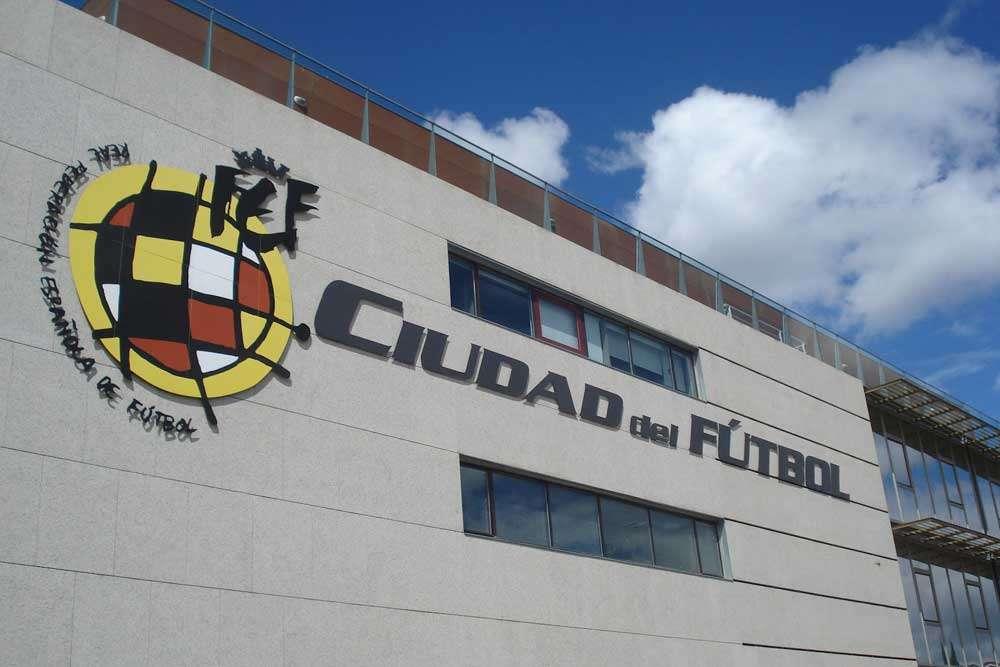 Real Federación Española de Fútbol./ Foto EFE