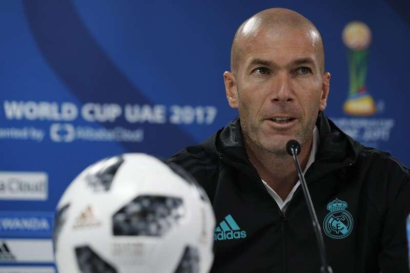 Zinedine Zidane./ Foto AP