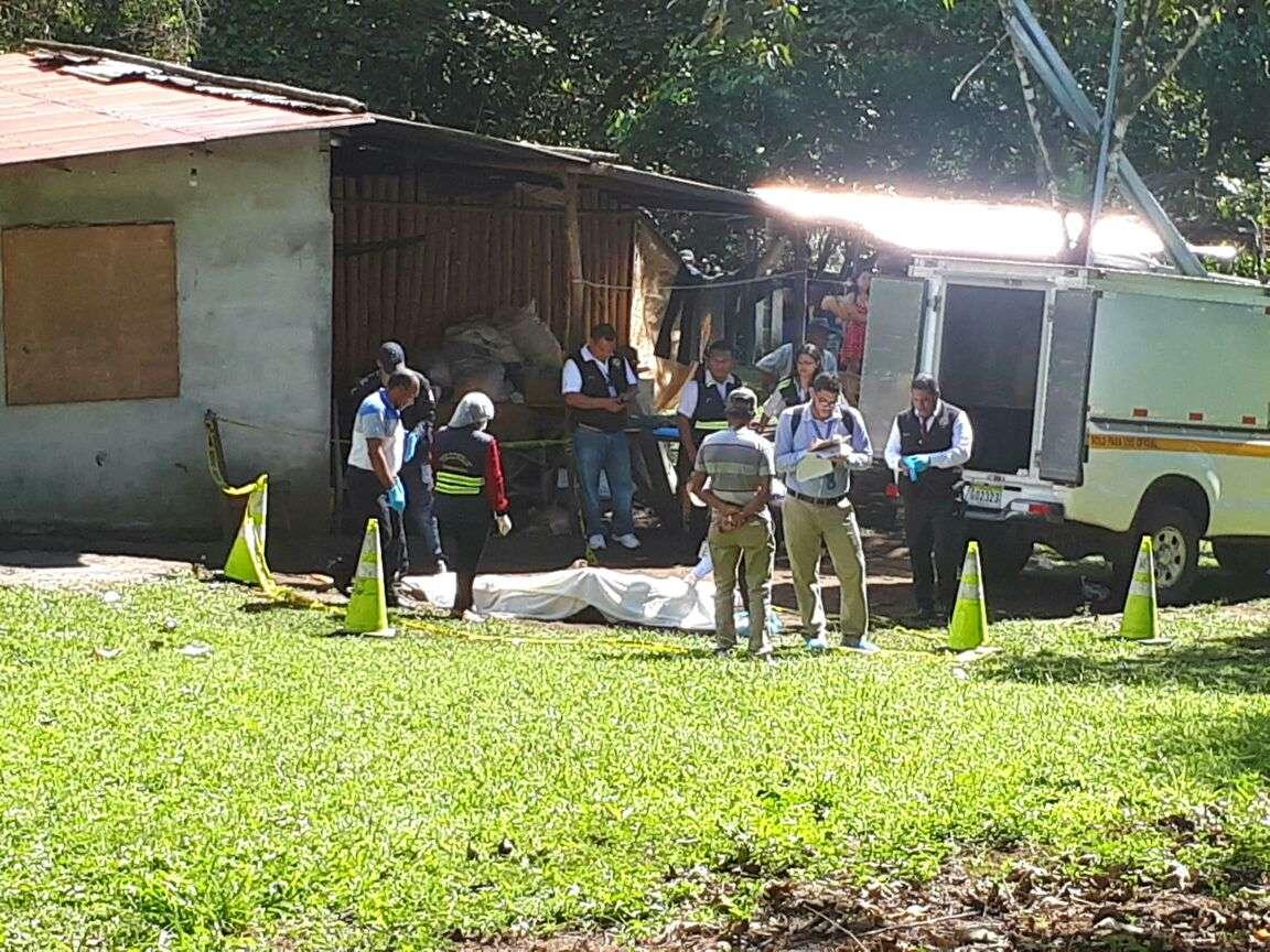 La víctima residía a unos kilómetros de la residencia donde fue encontrado muerto. /  Foto: Mayra Madrid