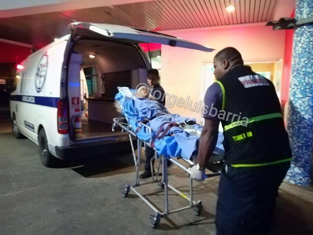 La víctima fue sorprendido por sus agresores cuando se dirigía a su residencia. /  Foto: Luis Barría