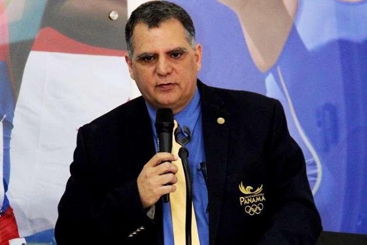El presidente del COP rinde informe de las pasadas citas regionales. Foto: Pandeportes